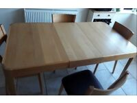 John Lewis Domino Extending Dining Table FREE DELIVERY 326