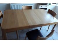 John Lewis Domino Extending Dining Table FREE DELIVERY 943