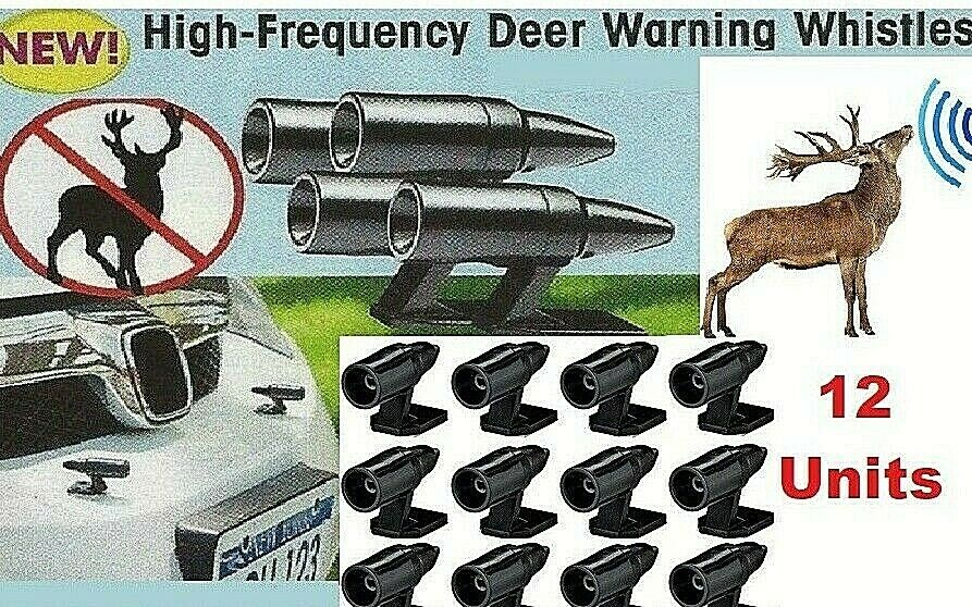 Deer Whistles Wildlife Warning Device Animal Sonic Alert Car Safety Accessory 12 Car & Truck Parts