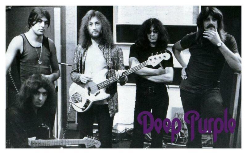 Deep Purple *POSTER* Ritchie Blackmore Ian Gillan Paice Jon Lord ROCK