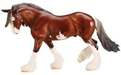 Breyer 1716 SBH Phoenix Clydesdale Horse Traditional Series 1:9 Scale New