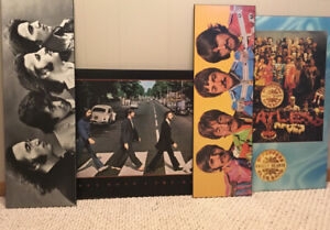 Beatles mounted posters