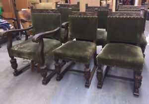 2+4 Chairs Green