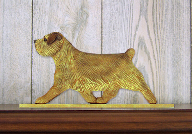 Norfolk Terrier Sign Plaque Wall Decor Grizzle