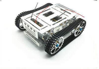 Metal Robot Tank Chassis Crawler Caterpiller Tracked Vehicle F Diy Rc Remote Toy