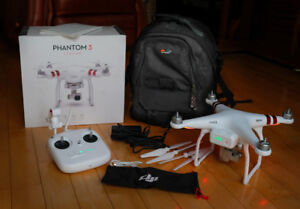 DJI Phantom 3 Standard drone with 2.7k camera