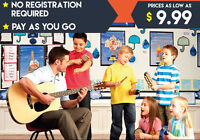 Group Lessons as low as $ 9.99