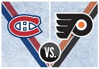 Billets hockey ROUGE Philadelphie vs Canadiens 16ième rangée