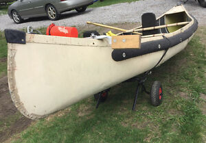 12' sport pal canoe with seats / carrier etc