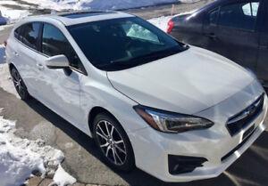 Subaru Impreza Sport 2017 - Transfert de bail