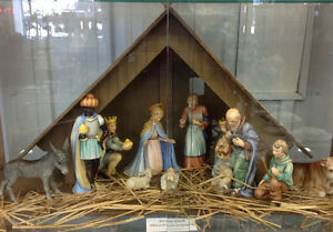 Vintage Hummel Nativity Set