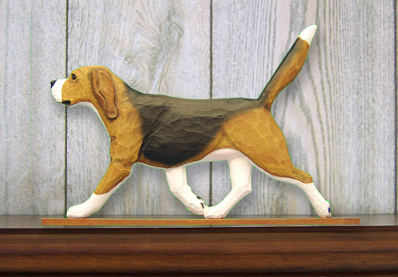 Beagle Sign Plaque Wall Decor Tri