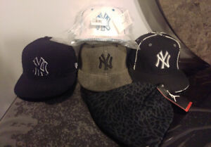 $60 pour 4!!!New Era  Hats - Brand New Size 7 Fitted