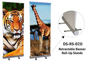 Custom Roll Up Banner With Stand and Graphics Full Colour Print