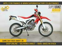 2014 64 HONDA CRF250L ALL TYPES OF CREDIT ACCEPTED