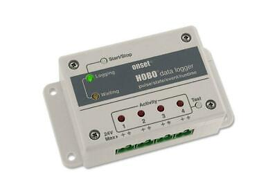 Onset Hobo Ux120-017 4-channel Pulse Event State And Run-time Data Logger
