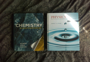 Chemistry and Physics textbooks for engineering
