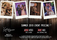 Professional Photographer For Hire _ Weddings & Events + more !!