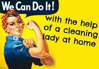 Residential Cleaning service.