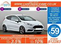 2014 FORD FIESTA 1.6 ECOBOOST ST3 GOOD / BAD CREDIT CAR FINANCE FROM 59 P/WK