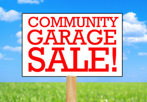Community Garage Sale in upper Stoney Creek
