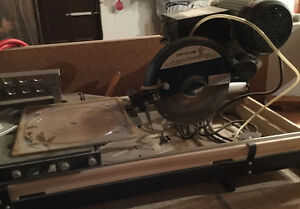 Large Tile Wet Saw for sale
