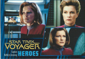 2015 Star Trek Voyager Heroes & Villains Card Set (89 cards)