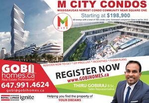 M CITY CONDOS - Mississauga, ON   www.GOBIHOMES.ca
