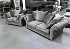 Brand New Plush Velvet 3+2 Sofa