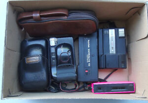 Lot of 6 Assorted 35 mm Film CAMERAS