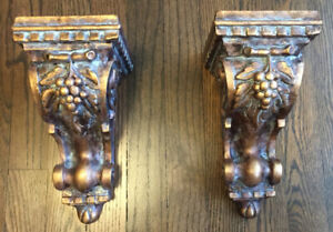 """2 wall sconces. 10"""" in height,View our other poster ads.$35.00"""