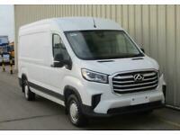 2020 MAXUS Deliver 9 RWD LWB HR Panel Van - NEW - IN STOCK! Diesel white Manual