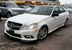 2010 MERCEDES-BENZ E550 AMG EDITION | PANO ROOF | ACCIDENT FREE