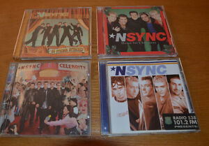 NSYNC: 4Great CD's: Celebrity, No Strings, Home4Christmas, NSYNC