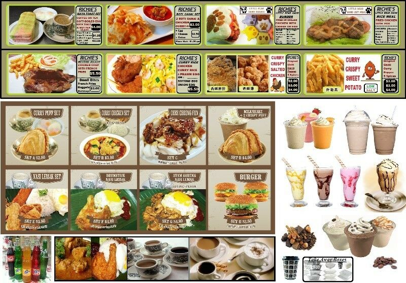catering Singapore ! bee hoon & Nasi Lemak/ Richie's Curry Puff Cafe Looking for Franchise Partner