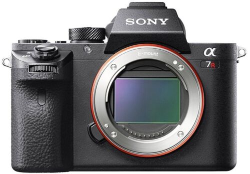 Sony Alpha a7R II Full-Frame Mirrorless Camera (Body Only) Black ILCE7RM2/B