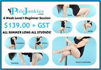 Level 1 Pole Dance for Beginners SW Studio
