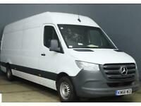 2018 Mercedes-Benz Sprinter 314 CDI LWB NEW MODEL EURO 6 Panel Van Diesel Manual