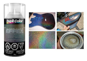 BNIB Dupli-Color Clear Effex Spray Paint- Holographic Sparkles C