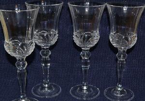 4 Mikasa Crytal Sherry Glasses London Ontario image 1