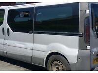 Vauxhall Vivaro Rare 12 Seater Minibus 1.9l Diesel