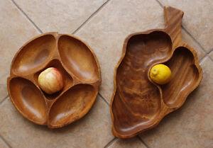 Plateaux à fruits ou à appéritif