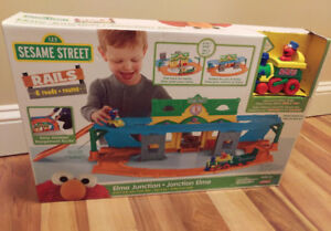 Playskool Sesame Street Train Set - Never Opened
