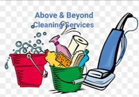 Above & Beyond Cleaning Services!