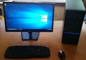 PRICE REDUCED!!! Virtually New Complete Desktop Computer