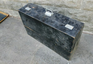 Vintage Wood Tool Box (Guitar Amp, Cab Project?)