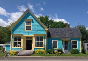 PRICE REDUCED! Historic store + living space, BAY OF FUNDY