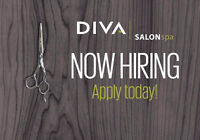 Diva Salon Spa Southcentre is hiring Licensed Hairstylists!
