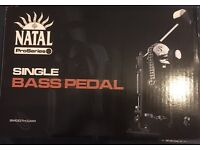 Brand new boxed Natal ProSeries Single Bass Pedal - Smooth Cam.