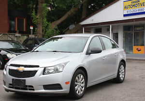 2011 Chevrolet Cruze 6-speed***ONE OWNER***FINANCING